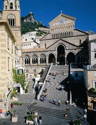 中世海洋都市アマルフィとその海岸 Costiera Amalfitana