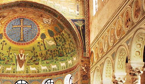 ラヴェンナのモザイクと初期キリスト教建築 Ravenna