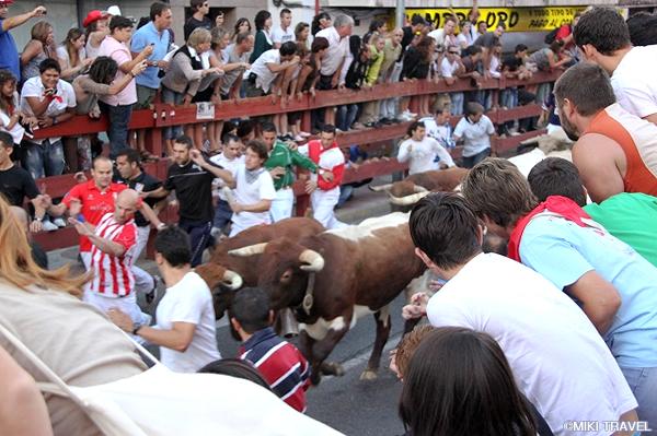 パンプローナの牛追い祭り0