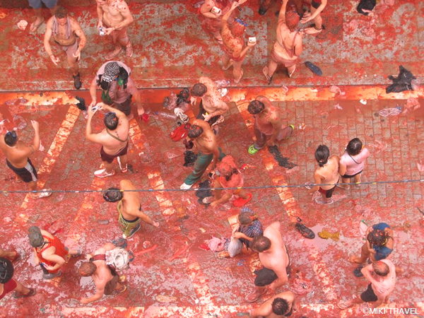 ブニョールのトマト祭り0