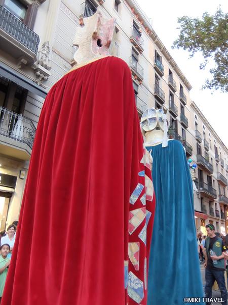 バルセロナのメルセ祭り