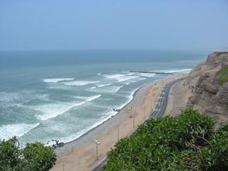 リマの海岸