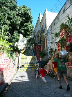 リオの街角