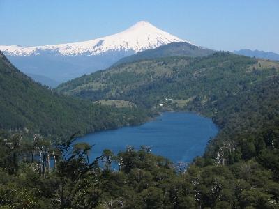 富士山もある!麗しのチリ・湖水地帯