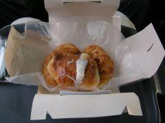 朝食サービスのパン