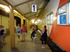 サルタ駅に帰着