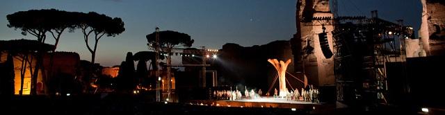 ローマ カラカラ浴場 野外オペラ