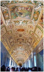 富と権力の結晶から成る歴代教皇の宮殿が美術館に