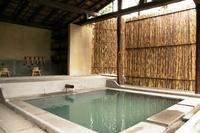 日本風の露天風呂があるアグリツーリズモ0